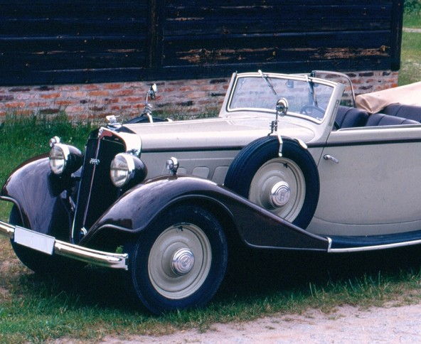 Horch 830 convertible, 1933