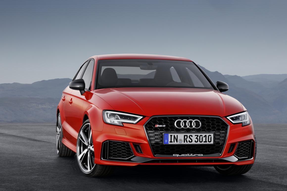 Audi RS 3 Sedan:コンパクトセグメント最速